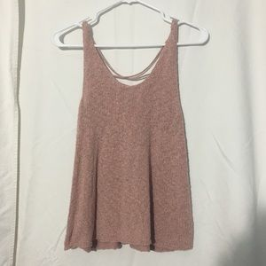 AMERICAN EAGLE Tank Top with Cross Back